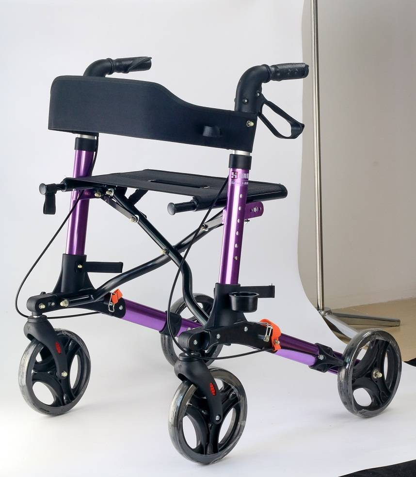 Medical Equipment Deluxe Rollator European Style