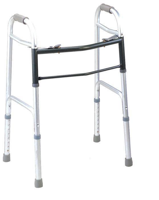 walking aid aluminum folding walker