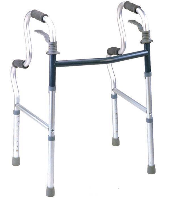adjustable aluminum walking aid