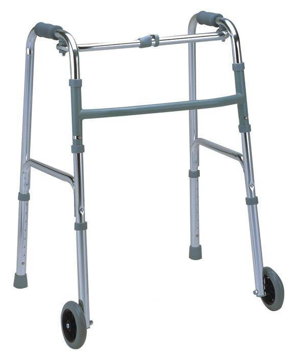 Adjustable Aluminum Rollator Walker