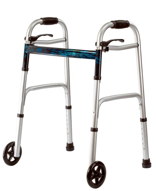 Medical Walker Rollator Aluminum Heavy Duty Walkder