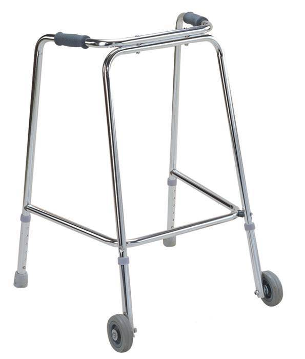 Aluminum walker with two 2.5