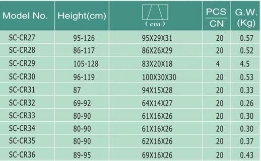 product-Aluminum walking stick adjustable crutch-SCIENCE MEDICAL-img