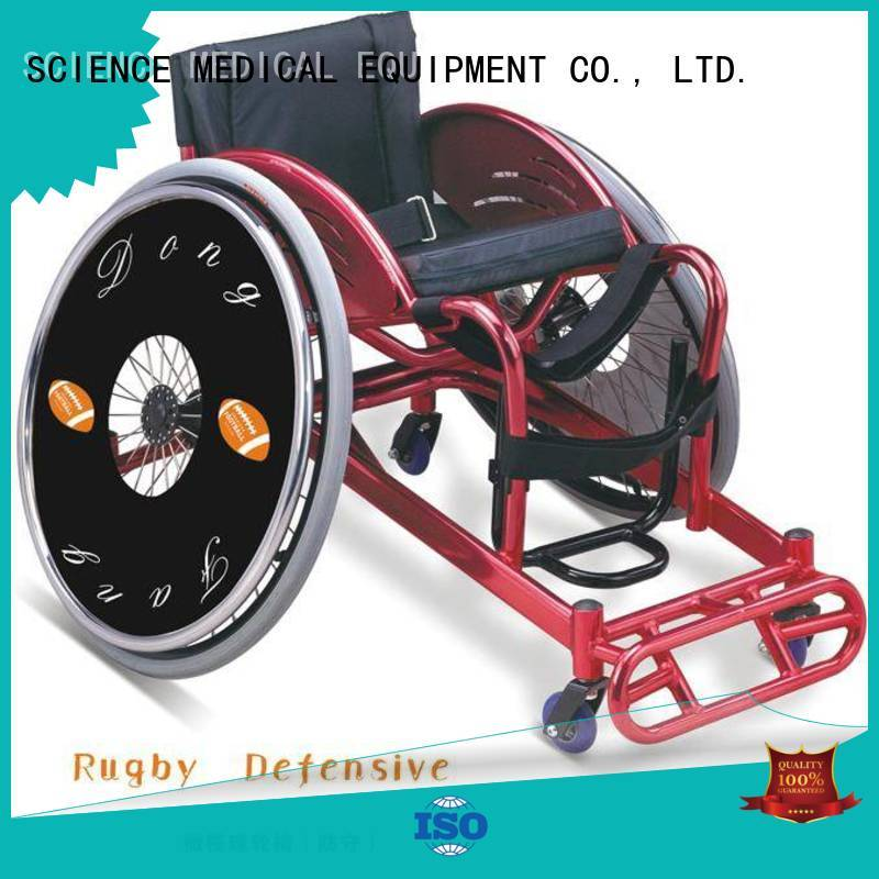 SCIENCE MEDICAL durable basketball wheelchair manufacturers scspw14 for elder