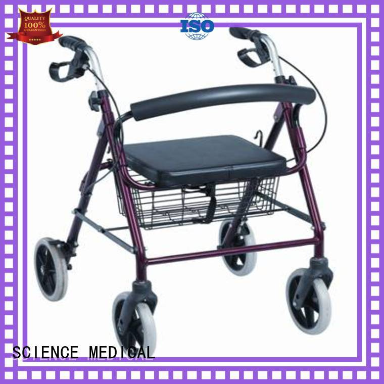 SCIENCE MEDICAL high-quality indoor rollator supplier