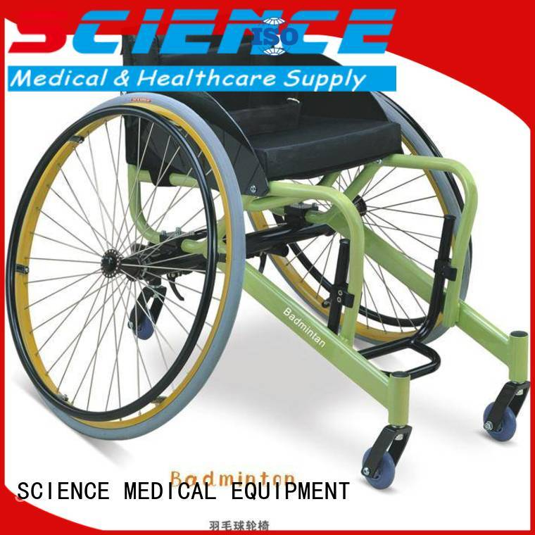 Breathable leisure wheelchair scspw17 supplier for elder