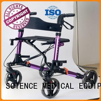 size outdoor rollator racing healthcare SCIENCE MEDICAL Brand