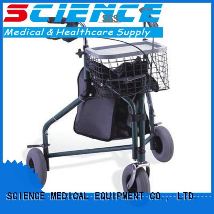 delta three wheel rollator disabled for traveling SCIENCE MEDICAL