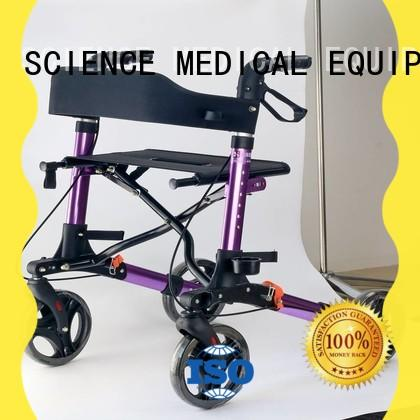 durable aluminium rollator walker people supplier