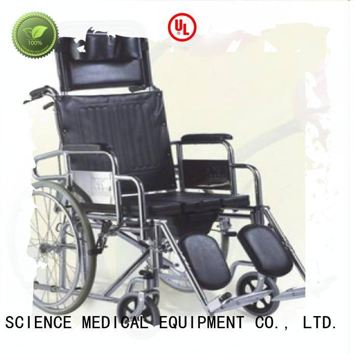 durable folding commode chair with wheels sccw02s buy now for disabled