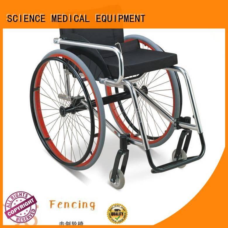 Breathable sports wheelchair basketball customization for elder
