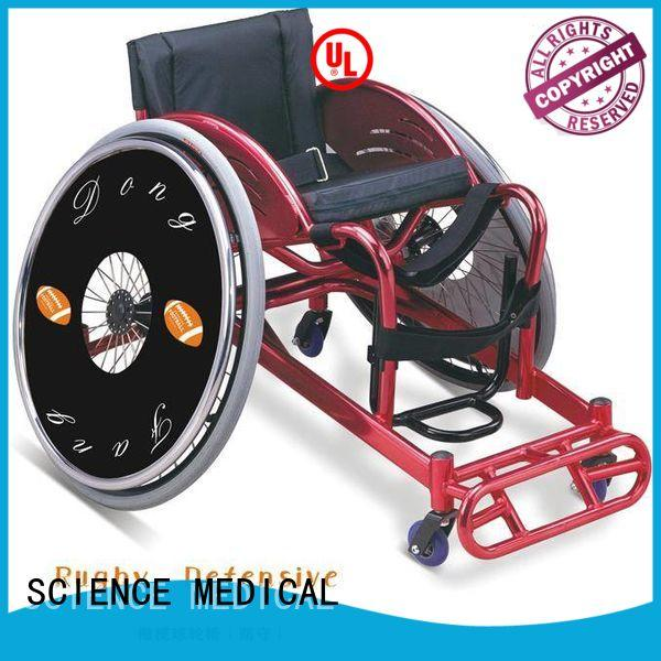 SCIENCE MEDICAL scspw07 sports wheelchair for sale ODM for patient