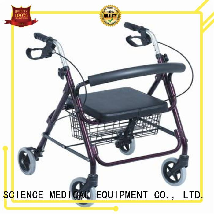 SCIENCE MEDICAL walker indoor rollator free sample for traveling