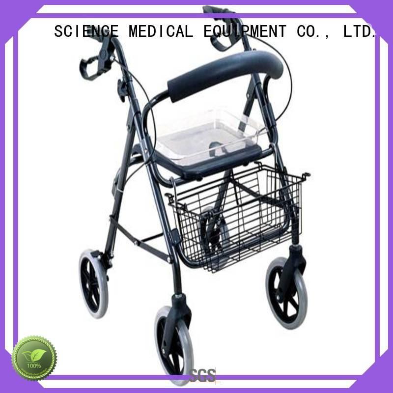 portable aluminium rollator walker transfer OEM